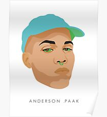 Anderson .Paak illustration Poster