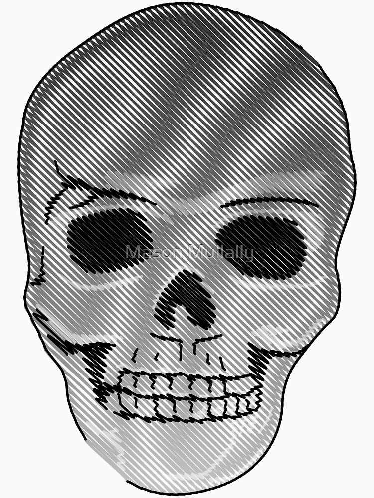 Skull by masonjar74