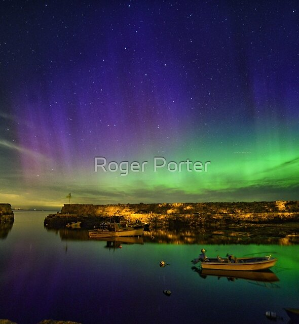 Lanescove Aurora by Roger Porter