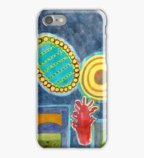 Gigantic Surreal Objects with Furniture  iPhone Case/Skin