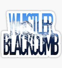 Whistler Blackcomb Sticker