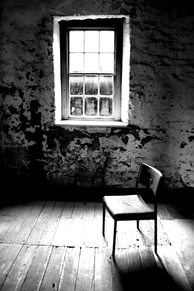 Mill Chair B+W by Kate Heard