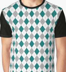 Snake House Argyle Graphic T-Shirt