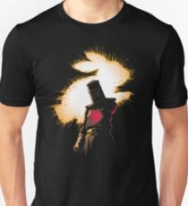 Camiseta unisex The Black Knight Rises