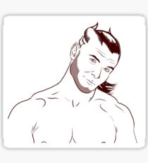 Smirking Talan Sticker
