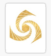 GOLDEN MEAN SACRED GEOMETRIC CIRCLE Sticker