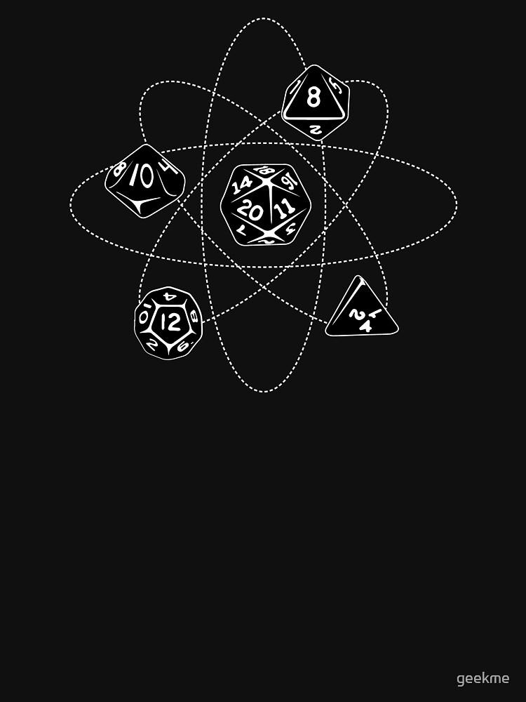 Dados atómicos de geekme