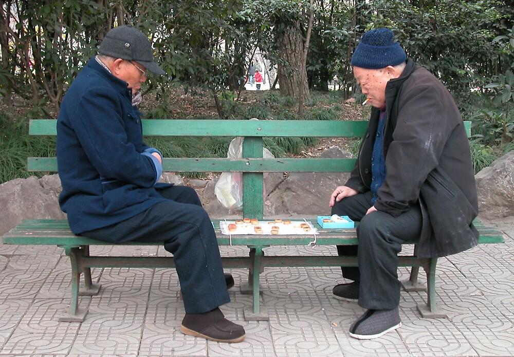 Two men by Geoff46