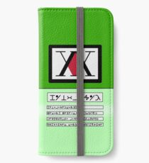 Hunter License v2 iPhone Wallet/Case/Skin