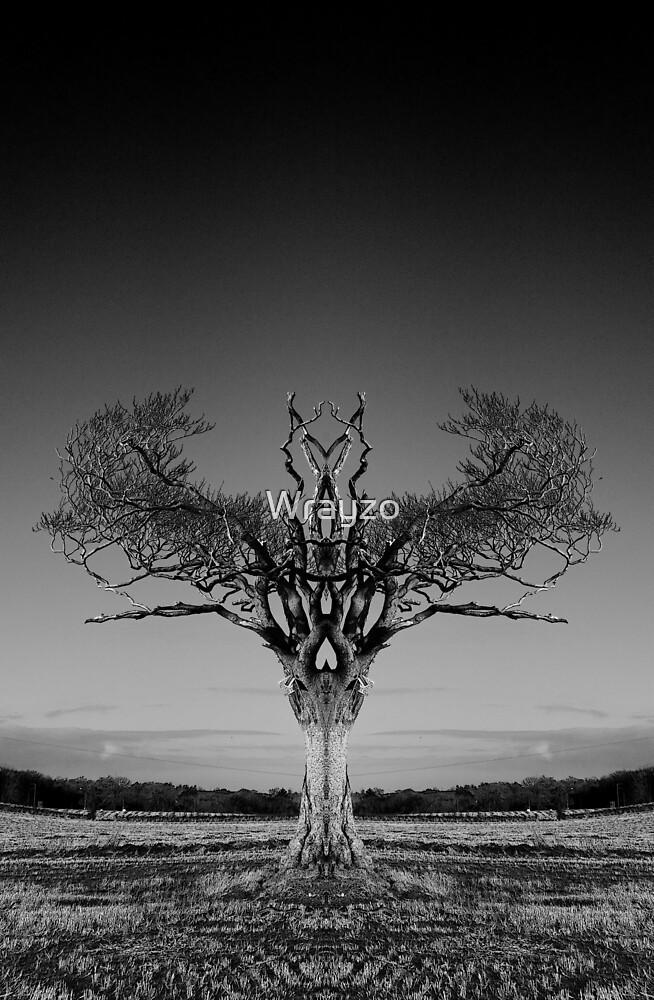 Rihanna Tree Symmetry by Wrayzo