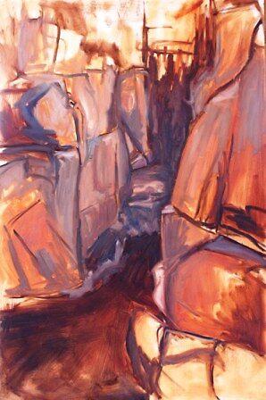 on the rocks by Jenny82