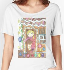 Gingerbread house Women's Relaxed Fit T-Shirt