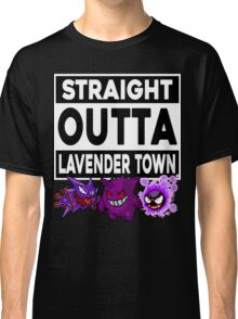 Straight Outta Lavender Town Classic T-Shirt