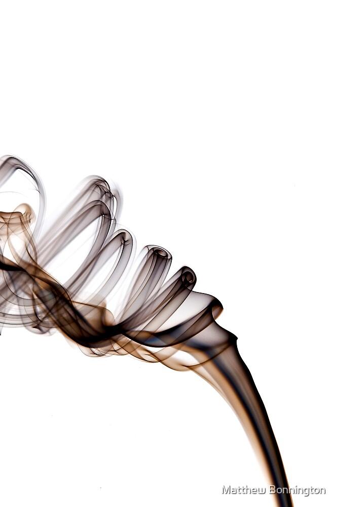 White smoke 2 by Matthew Bonnington