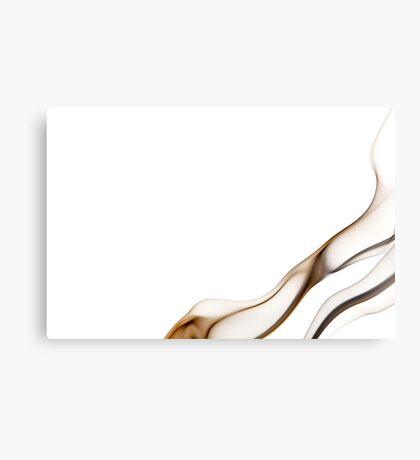 White smoke 3 Canvas Print