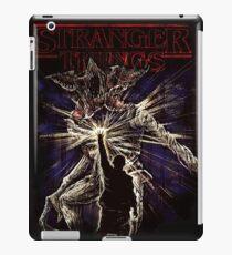 stanger things iPad Case/Skin