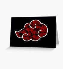 Red  Cloud Millennial.Nature Greeting Card