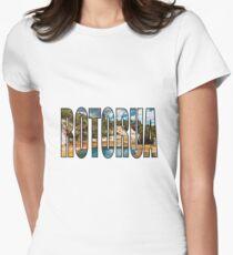 Rotorua Womens Fitted T-Shirt