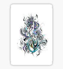 celestial mermaid  Sticker