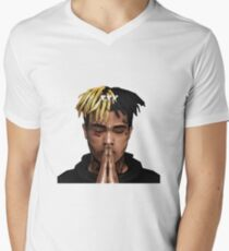 XXXTENTACION / FREE X / PRAY Men's V-Neck T-Shirt