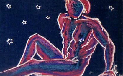 nude male 2 by kaleidoscopecreation