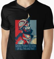 The Grand Poobah De Doink Of All This And That Men's V-Neck T-Shirt