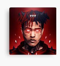 XXXTENTACION / Evil / Devil / Box Canvas Print