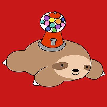 Máquina de Gumball Sloth de SaradaBoru