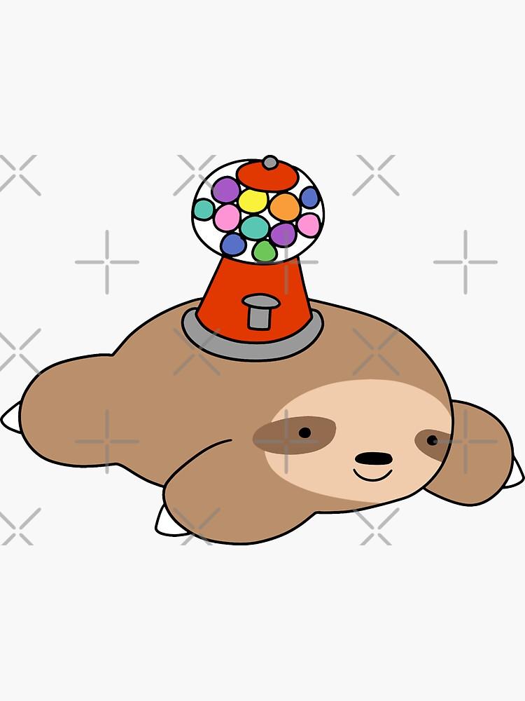 Gumball Machine Sloth by SaradaBoru