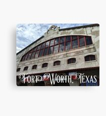 Fort Worth Stockyards Coliseum Canvas Print
