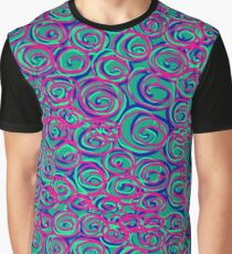 Circles Over Circles by Julie Everhart Graphic T-Shirt