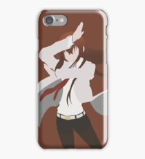 Makise Kurisu (Steins;Gate Minimalist Print/Phone Case) iPhone Case/Skin