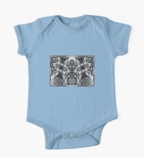 blending in sky and tree One Piece - Short Sleeve