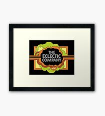 the Eclectic Company  Framed Print