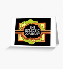 the Eclectic Company  Greeting Card