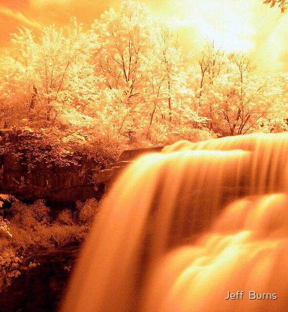 Heaven Shining Down On Me by Jeff  Burns
