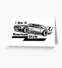 1969 Chevy Camaro SS Z28 Greeting Card