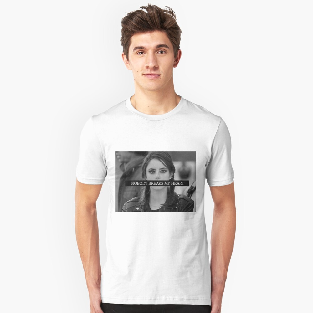 Tumblr Skins Edit Slim Fit T-Shirt