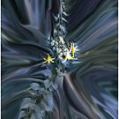 Canada Lily Abstract by Wayne King