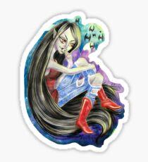 Marceline the Vampire Queen Sticker