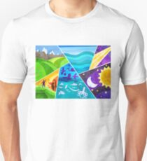 creation of the world in 7 days Unisex T-Shirt
