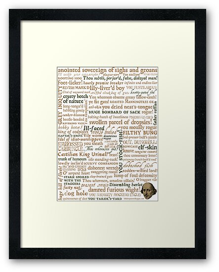 Shakespeare's Insults Collection - Revised Edition (by incognita) by Incognita Enterprises