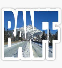 Banff Sticker