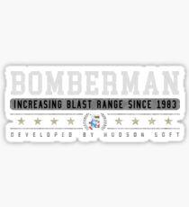Bomberman - Vintage - Black Sticker