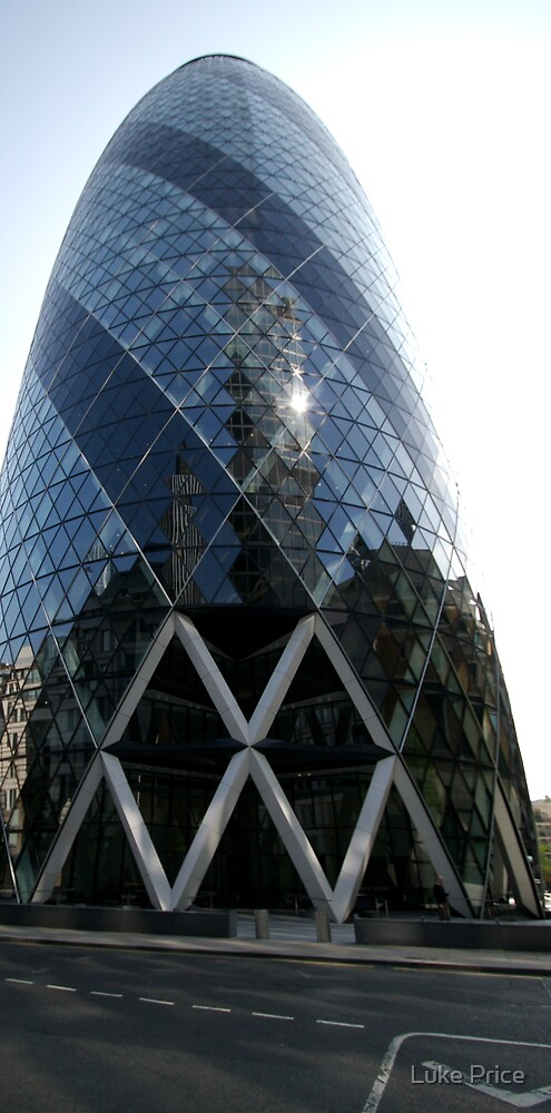 Gherkin - London by Luke Price