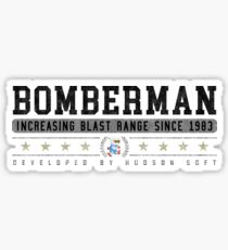 Bomberman - Vintage - White Sticker