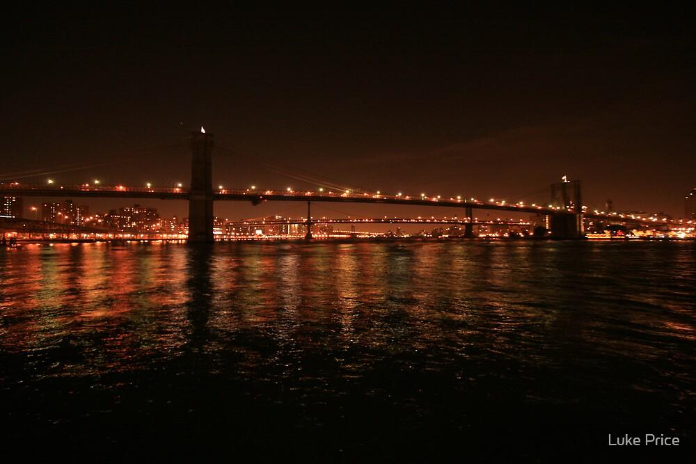 Brooklyn Bridge - Manhatten by Luke Price
