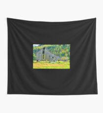 Old Barn in the Fall Wall Tapestry