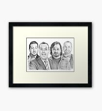 TruTV's Impractical Jokers - The Tenderloins Sketch! Framed Print