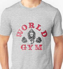Gorilla World Gym - distressed effect Unisex T-Shirt